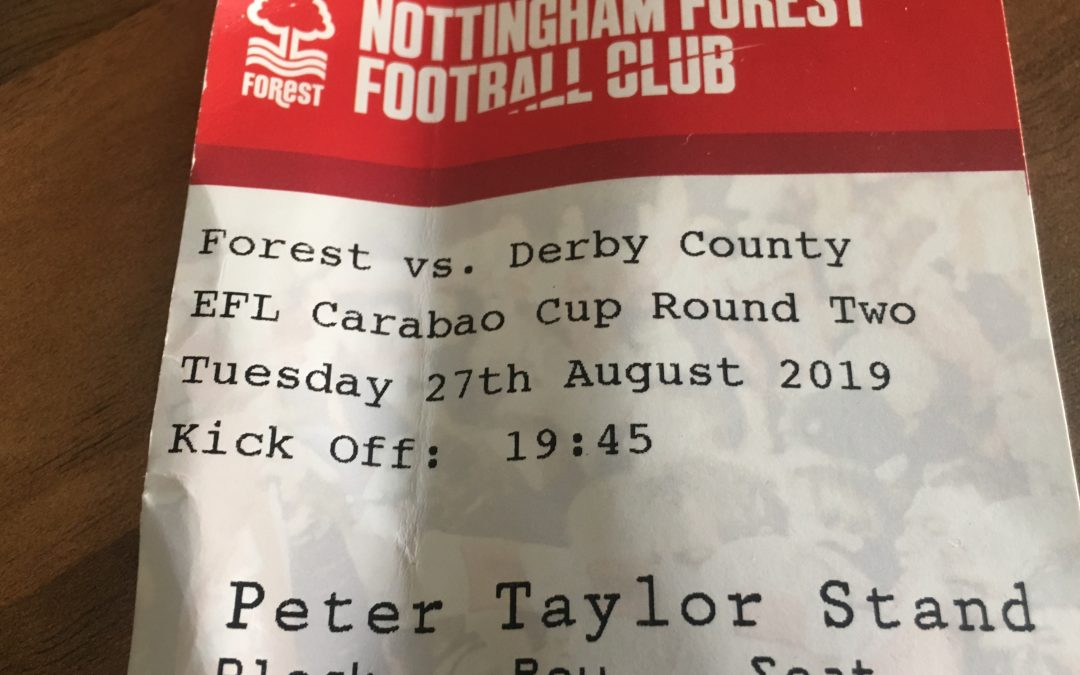 Carabao Cup 2nd Round Preview – Forest v Derby
