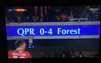 Forest are magic – QPR 0 – Forest 4 – Matchday 17